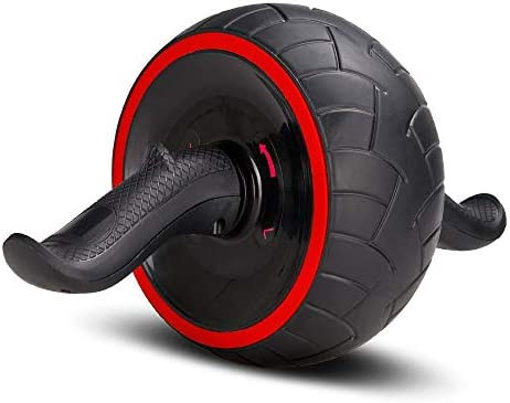 ACEmedia Ab Wheel Roller with Knee Pad Pro Fitness Equipment Ab Workout Machine Abdominal Wheel Exercise Equipment Home Gym Core Training 3