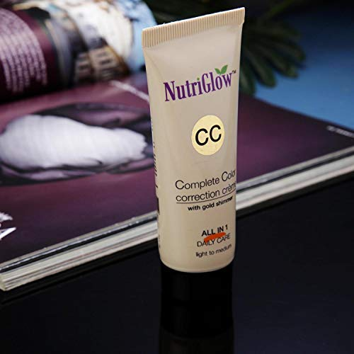 NUTRIGLOW CC-Cream with Gold Shimmer, 50 ml
