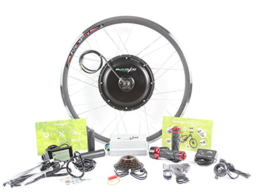 """EBIKELING 48v 1200w 26"""" REAR direct drive Hub motor ebike Electric Bicycle Conversion Kit - No batteries included"""