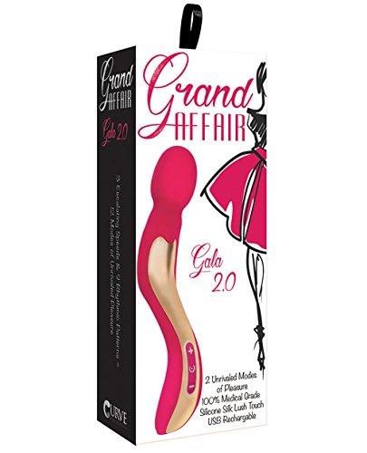 Grand Affair Gala 2.0 Wand Massager Rose Pink