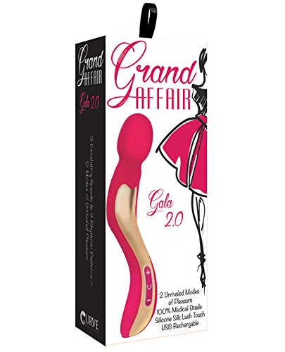 Grand Affair Gala 2.0 Wand Massager Rose Pink