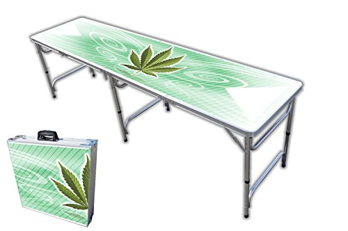 8-Foot Professional Beer Pong Table - High Times Graphic