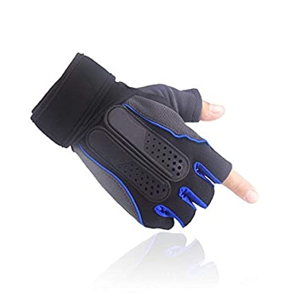 ABX Fitness Gym Gloves for Weight Lifting and Cross Training with Silicon Gel to Provide Grip, Comfort and Wrist Support - Best for Men and Women