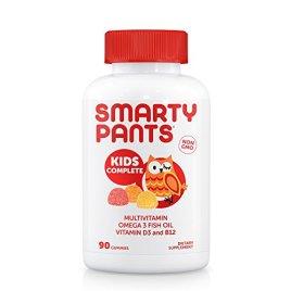 SmartyPants Gummy Vitamins: Multivitamin & Omega 3 DHA/EPA Fish Oil, Methyl B12, Vitamin D3