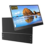 Portable Monitor, UPERFECT 13.3' Super Thin PC Display IPS Screen 1920×1080 with Case Fit for Mini HDMI Type-C PD Dual Speakers 60HZ for Computer Laptop PS4 Switch Xbox 360 Raspberry Pi Nintendo