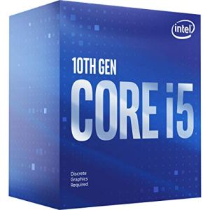 Intel Core i5-10400F Desktop Processor 6 Cores up to 4.3 GHz Without Processor Graphics LGA1200 (Intel 400 Series…