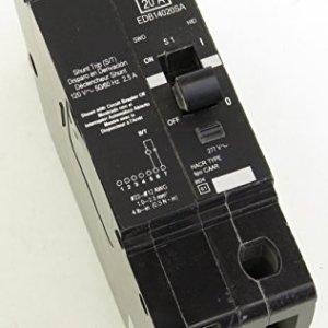 EDB14020SA SQD 1P 20A 277V 120V SHUNT TRIP BOLT-ON MINATURE CIRCUIT BREAKER
