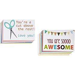 Designer Lunchbox Notes - 2 Packs of 27 Cards - Multi