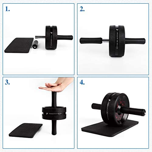 Vinsguir Ab Roller for Abs Workout, Ab Roller Wheel Exercise Equipment for Core Workout, Ab Wheel Roller for Home Gym, Ab Workout Equipment for Abdominal Exercise 8