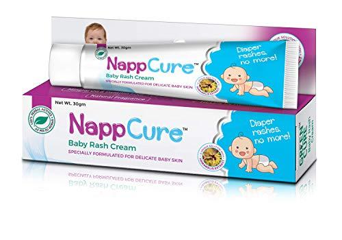 Greencure Nappcure Ayurvedic Herbal Baby Rash Cream – 30 Gm