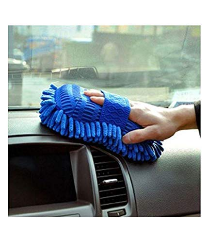 41pB%2BcgHWAL Mahek Accessories Multipurpose Microfibre Wet & Dry Duster for Cars - Pack of 1