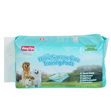 BESTLE-Extra-Large-Pet-Training-and-Puppy-Pads-Pee-Pads-for-Dogs-28x34-40-Count-Super-Absorbent-Leak-Free