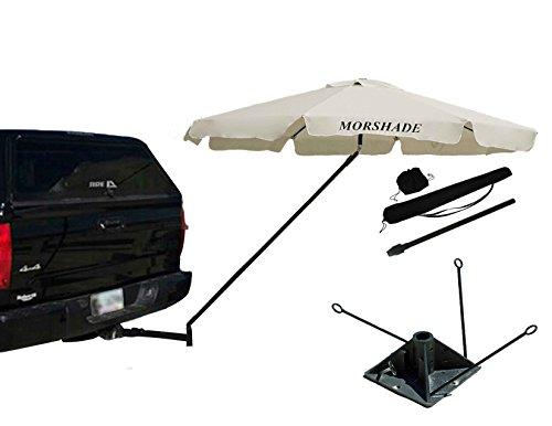 MORSHADE MS360NEU 360 Beach Umbrella, White