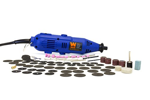 WEN 2307 Variable Speed Rotary Tool Kit with 100-Piece Accessories