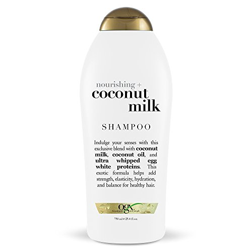 OGX Nourishing + Coconut Milk Shampoo, 25.4 Ounce