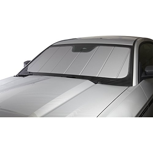 Covercraft UV10966SV Silver UVS 100 Custom Fit Sunscreen for Select Cadillac/Chevrolet/GMC Models - Laminate Material, 1 Pack