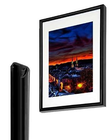 Bilderrahmen Kunststoff Schwarz 50x70 Cm