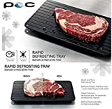 Fairbridge FBCN001 Fast Tray The Safest Way to Defrost Meat or Frozen Food Quickly Without Electricity, Microwave, Hot Water or Any Other, Small