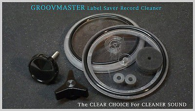 Groovmaster Label Saver Record Cleaner - The Clear Choice For Cleaner Sound