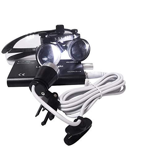Bestlife three.5x420mm DentaL Medical Binocular Loupes with Head mild Lamp (Black), deal 50% off 41piZpI80NL