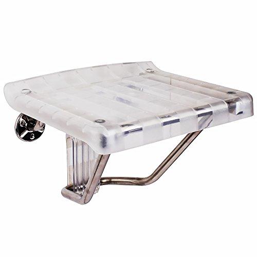 DreamLine Plastic Folding Shower Seat, SHST-01-PL