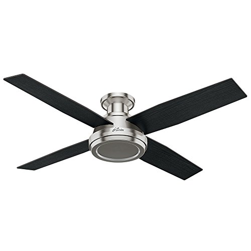 Hunter-Fan-Company-59247-Hunter-52-Dempsey-Low-Profile-Brushed-Nickel-Ceiling-Fan-with-Remote