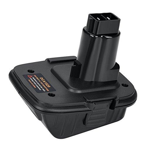Swidan 18v to 20v Adapter DCA1820 for Dewalt 18V Tools,Convert Dewalt 20V MAX Compact...