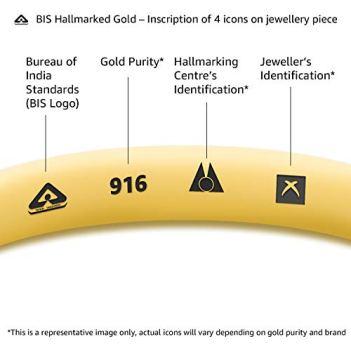 Senco-Gold-22k-Yellow-Gold-Multi-Strand-Necklace-for-Women