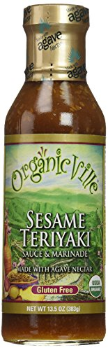 OrganicVille Sesame Teriyaki Sauce, 13.5 Ounce - 6 per case.
