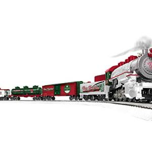 Lionel Trains – Winter Wonderland LionChief Set with Bluetooth, O Gauge 41pzWehFTgL