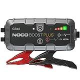 NOCO Boost Plus GB40 1000 Amp 12-Volt UltraSafe 12-Volt UltraSafe Lithium Jump Starter For Up To 6-Liter Gasoline And 3-Liter Diesel Engines