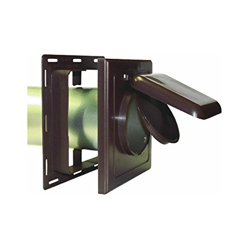 P Tec Products J-Block Vent / Wide Mount Vent Brown