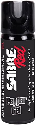 SABRE RED Pepper Gel Home Protection Kit—Police Strength—17 Bursts & 17-Foot (5M) Range