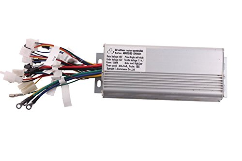 1500W 48V Electric Bicycle Brushless Motor Controller For E-bike & Scooter