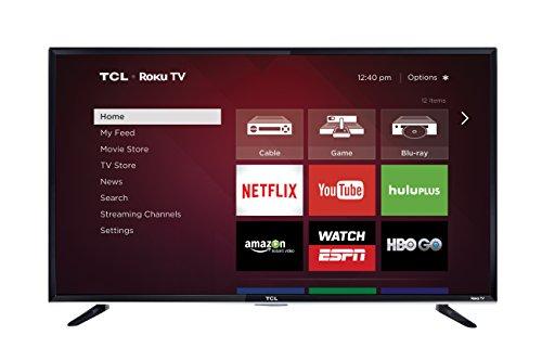 TCL 50FS3800 50 Inch 1080p Roku Smart LED TV (2015 Model)  Image of 41q5ZG3f5bL