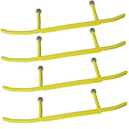 TOP NOTCH PARTS (4) 6' Carbides for Ski-Doo Snowmobile Precision Skis Legend SE MXZX MX Adrenaline Rev Free FedEx 2 Day Shipping