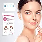 Face Lifting Patch Thin Face Stickers V Shape Face Chin Lift Fast Invisible Artifact Sticker,Tightens Skin And Eliminates Wrinkles Face Lift Tools(20 pairs)