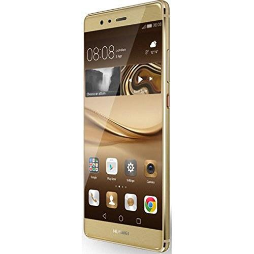 "Huawei P9 5.2"" 64GB ROM 4GB RAM Dual SIM Kirin 955 Octa Core Dual 12 MP Camera 4G LTE Smartphone (Haze Gold) - International Version No Warranty"