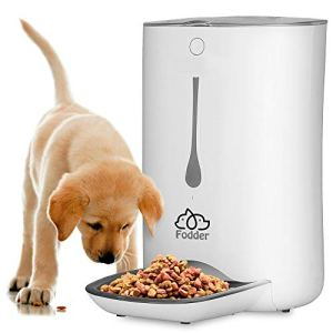 SereneLife Automatic Pet Feeder – Electronic Dogs and Cat Food Dispenser –Programmable Features for  Portion and Weight Control and Meal Scheduling – Built-In Voice Recorder and Player