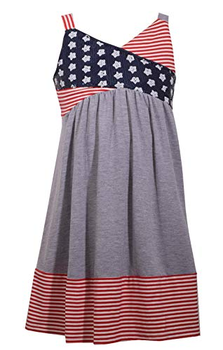 Bonnie Jean Girl's 4th of July Dress - Americana Sundress for Toddlers, Little and Big Girls (5)