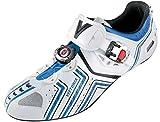 Vittoria Hora EVO Cycling Shoe (47 M EU / 13 D(M) US, White/Blue)