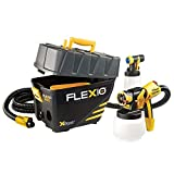 Wagner 0529021 FLEXiO 890 Stationary HVLP Paint Sprayer, Sprays Unthinned Latex, Includes two Nozzles, iSpray Nozzle and Detail Finish Nozzle, Complete Adjustability for All Needs