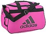 adidas Unisex Diablo Small Duffel Bag, Intense Pink/Black, ONE SIZE