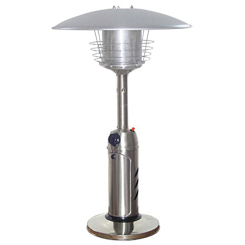 AZ-Patio-Heaters-HLDS032-B-Portable-Table-Top-Stainless-Steel-Patio-Heater-Stainless-Finish