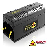 Electronic Rat Zapper Exterminator Trap - Electric Mouse Killer Eliminator, Humane Rodent Defense Device, Safely and Quietly Traps Squirrels, Mice, Rats, Chipmunks, and More - SereneLife