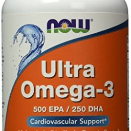 NOW Ultra Omega 3 Fish Oil,180 Softgels
