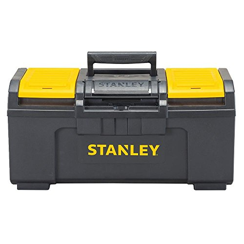 Stanley STST19410 One-Latch Toolbox, 19-Inch, Black