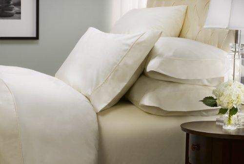 Kirkland Signature Ivory 540 Thread Count Supima Cotton SIX Piece Sheet Set
