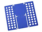 House Hubby T Shirt and Pants Folding Board Clothes Organizer for Adults (Blue)