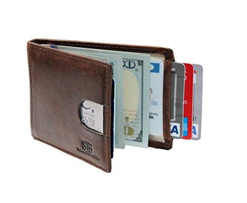 Travel Wallet RFID Blocking Bifold Slim...